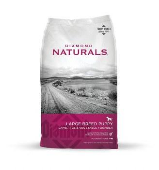 Diamond Naturals Large Breed Puppy Formula Dry Dog Food 40lb