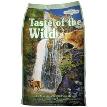 Taste of the Wild Rocky Mountain Feline Forumula with Venison & Salmon Grain Free Dry Cat Food 15lb