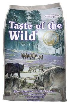 Taste of the Wild Sierra Mountain Lamb Grain FreeDry Dog Food 30lb