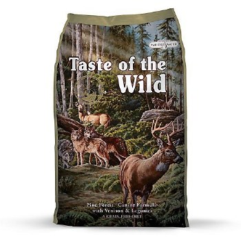 Taste of the Wild Pine Forest Grain Free Dry Dog Food 30lb
