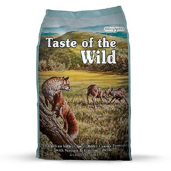 Taste of the Wild Appalachian Valley Small Breed Grain Free Dry Dog Food 28lb
