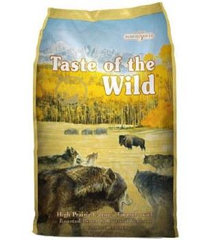 Taste of the Wild High Prairie Grain Free Dry Dog Food 30lb
