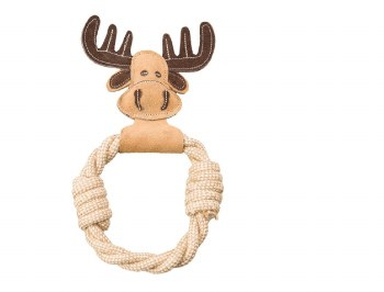 Dura Fused Leather Animal Toy Rings 11 Inch