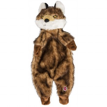 Furzz Fox Plush 20 In Brown