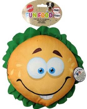 Jumbo Hamburger Toy - 11in