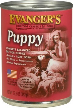 Evanger's Classic Recipes Complete Puppy Canned Dog Food 12.8oz