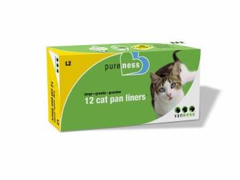 Cat Pan Liners Large 12 pk