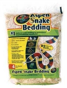 Aspen Snake Bedding 4 Dry Qts