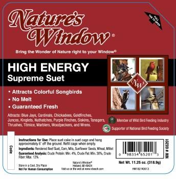 High Energy Supreme Suet 11.25oz