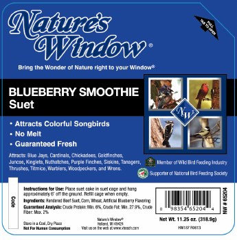 Blueberry Smoothie Suet 11.25oz
