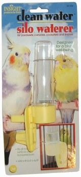 JW Pet Clean Water Silo Bird Waterer