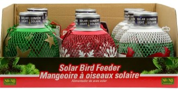 Holiday Solar Seedball Silver