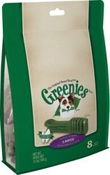 Greenies Treat 12oz Large 8 Ct
