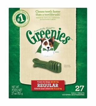 Greenies Regular 25-50lb 27oz