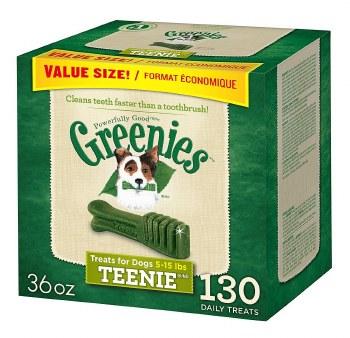 Greenies Teenie Box 36oz 130ct