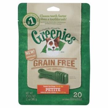Greenie GrainFree Petite 12oz