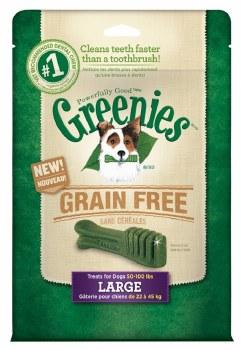 Greenie GrainFree Large 12oz