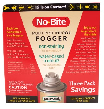 No Bite Fogger 3 Pack