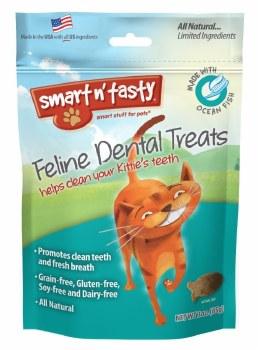 Smart N' Tasty Grain Free Whitefish Dental Treats 3oz