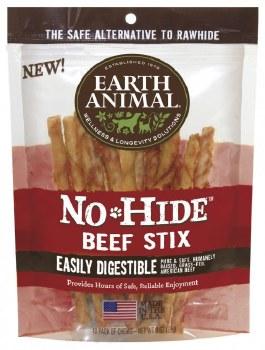 Earth Animal No Hide 10 Count Beef Sticks