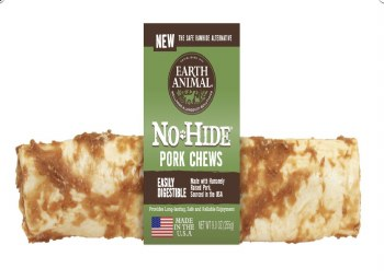 Earth Animal No Hide 4 Inch Pork Chew