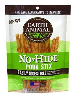 Earth Animal No Hide 10 Count Pork Sticks