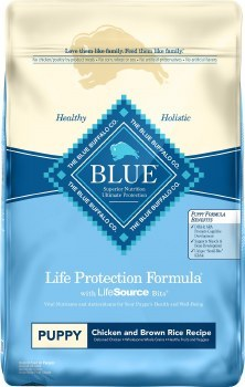 Blue Buffalo Life Protection Formula Puppy Chicken and Brown Rice Recipe Dry Dog Food 30lb