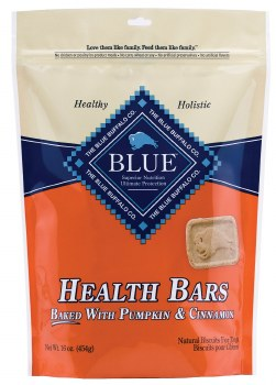 Blue Buffalo Health Bars Baked with Pumpkin and Cinnamon Dog Treats 16oz
