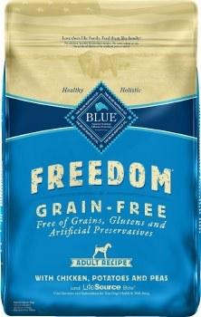 Blue Buffalo Freedom Adult Chicken Recipe Grain Free Dry Dog Food 24lb