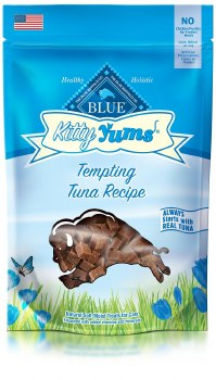 Blue Buffalo Kitty Yums Tempting Tuna Recipe Cat Treats, 2-oz bag
