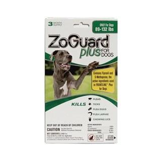 Zoguard Plus Dog 89-132 lbs