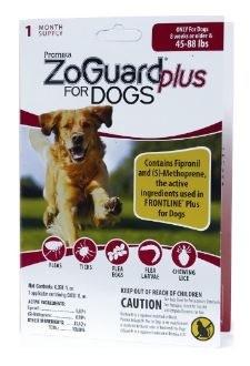 Zoguard+ Single Dogs 45-88lbs