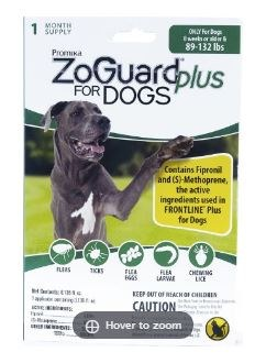 Zoguard+ Single Dogs 89-132lbs
