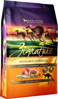 Zignature Kangaroo Limited Ingredient Formula Grain Free Dry Dog Food 4lb