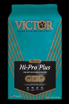 Victor Hi Pro Plus Formula Dry Dog Food 40lb