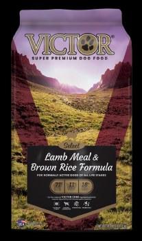 Victor Select Lamb Meal and Brown Rice Dry Dog Food 40lb