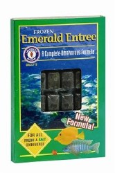 Frozen Emerald Entree for all fresh and salt water omnivores 30 cubes 3.5oz