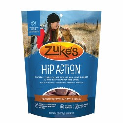 Zuke's 6oz Hip Action Peanut Butter & Oats Recipe Dog Treats