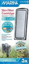 Marina Bio-Carb Cart Slim 3pk