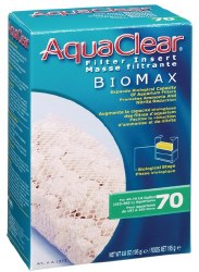 Aqua Clear Bio Max Filter Insert 40-70 Gallon