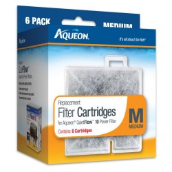 Aqueon Replacement Filter Cartridges Medium 6 Pack