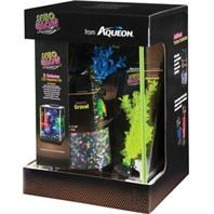 Aqueon Aquarium Kit Lime Green NeoGlow 5 Gallon