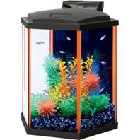 Aqueon LED Aquarium Kit Orange NeoGlow 8 Gallon