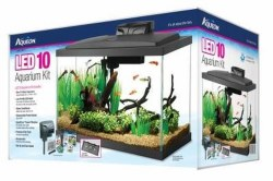 Aqueon Led Aquarium Kit Black 10 Gallon