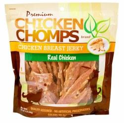 Premium Chicken Chomps Chicken Breast Jerky Dog Treats 16 Ounce Bag
