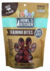 Howl's Kitchen Training Bites Beef Flavor Dog Treats 12oz