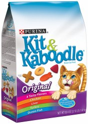 Kit & Kaboodle Original Dry Cat Food 3.15lb