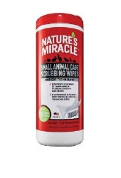 NM Sm Animal Cage Wipes 30Ct