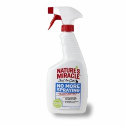 Natures Miracle Just For Cats No More Spaying Repellant And Stain And Odor Remover