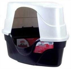 Hooded Corner Litter Box